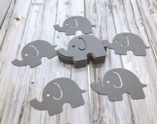 Baby Shower Elephant Table Confetti Color Gray (50 Pieces)