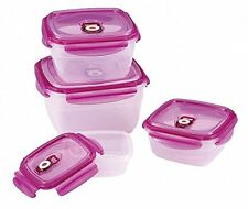 8-Piece Vacuum Containers set with lid - Food storage boxes