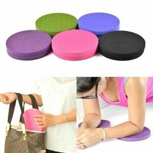2X Light Round Knee Pad Yoga Mats Elbow Fitness Sport Pad Cushion Anti-slip New