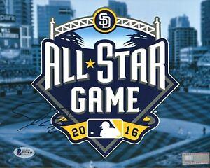 Josh Donaldson Signed 2016 All Star Baseball 8x10 Photo BAS Beckett B58843
