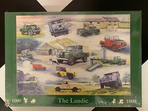 The Landie Land Rover 1000 piece Jigsaw The Kingslea Collection