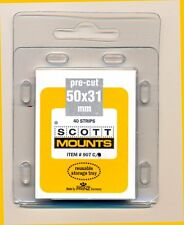 Prinz Scott Stamp Mounts Size 50/31 CLEAR Pack of 40