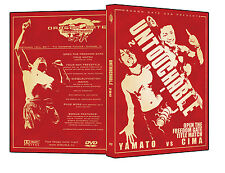 Official DGUSA Dragon Gate USA : Untouchable 2011 Event DVD
