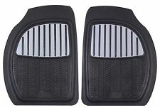 MICHELIN 2 tappeti auto universali anteriori caucciù/alluminio