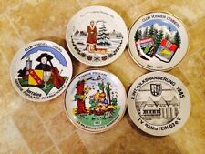 KAHLA  COLLECTIBLE PLATES MADE IN THE GERMAN2. INTVOLKSWANDERUNG MARCHE LEMBER