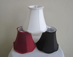 "Urbanest 6 Inch Scallop Chandelier Mini Lamp Shade,Faux Silk,Softback,3""x 6""x5"""