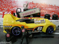 2013 ULTIMATE RACING Design Ex POWER ROCKET ✿Yellow; 6✿New LOOSE✿Hot Wheels Race