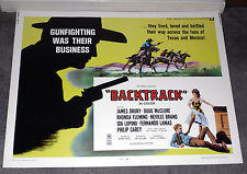 BACKTRACK/LAREDO rolled poster WILLIAM SMITH/DOUG MCCLURE/NEVILLE BRAND orig hs