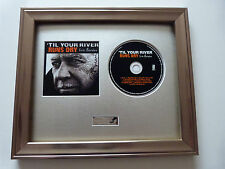 SIGNED/AUTOGRAPHED ERIC BURDON -TIL YOUR RIVER RUNS DRY PRESENTATION.THE ANIMALS