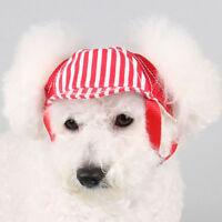Pet Dog Hat Baseball Cap Windproof Travel Sports Sun Hats for Puppy Large Dogs S