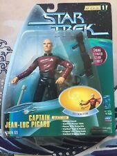 Playmates STAR TREK TNG Captain Jean-Luc Picard Vintage Action Figure MOC
