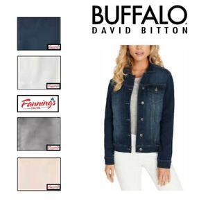 SALE! Buffalo Ladies' Stretch Knit Denim Lightweight Jacket SIZE/CLR VARIETY F41
