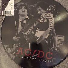 AC/DC - Columbus Rocks - New limited picture disc Vinyl Lp