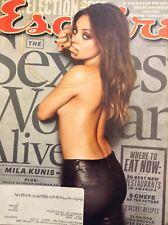 Esquire Magazine Mila Kunis Sexiest Women Issue November 2012 060418nonrh