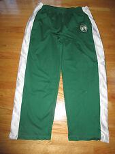 Vintage NBA BOSTON CELTICS (XL) 100% Polyester Snap Break Away Pants