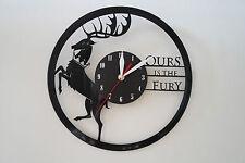 Game of Thrones Design vinyl record wall clock [ black matt sticker ] home art