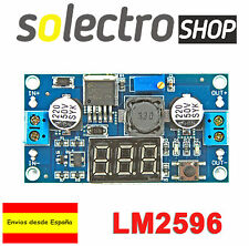 LM2596 Convertidor Voltimetro DC 3A Step Down alimentación regulable A0013