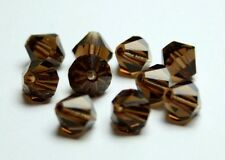 Preciosa Perlen smoked topaz Rondell Beads 7 mm *** high quality ***