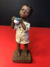 """All God's Children"", Martha Holcombe Figurine Art, #3500, 'Nakia' (1994)"