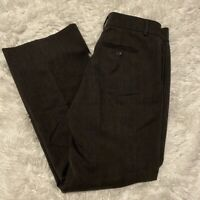 "Banana Republic Womens Size 0 Stretch Black Martin Fit Dress Pants 28"" Inseam"
