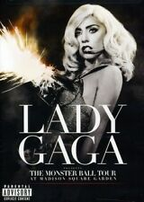 LADY GAGA The Monster Ball Tour At Madison Square Garden DVD NEW NTSC Region ALL