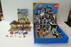 LOT 100% LEGO CITY LEGOLAND (annees 80)