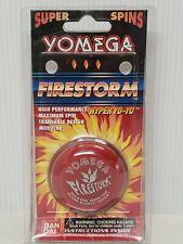 Genuine YOMEGA FIRESTORM YO YO Red in Package 1998