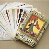 Antique kraft Air Mail Envelope Postcard Cards Lot Old European American Photo