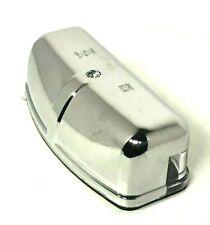 Classic Mini Chrome Plastic D Shape Number Plate Lamp Austin Cooper, Morris