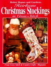 Heirloom Christmas Stockings in Cross-Stitch: From Cross Stitch & Country Craft