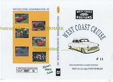 WEST COST KUSTOMS CRUISE PASOE ROBLES 1992 DVD  Larry Watson ,street rat hot rod