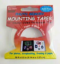 New listing Pioneer® Photo Memory Mounting Taper® for Scrapbooking, Photos, & Framing - Nip