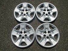 genuine 1998 to 2003 Toyota Sienna hubcaps wheel covers set