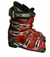 Nordica Beast 10 Men Ski Boots RED 26.0 / 26.5 (9-9.5) -Made in Italy