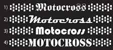 MOTOCROSS window banner decal *FOX THOR Monster Energy KTM Honda Yamaha Kawasaki