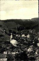 WILDEMANN Harz AK 1956 gelaufene alte Postkarte Vogelschau Totale v. Zickzackweg