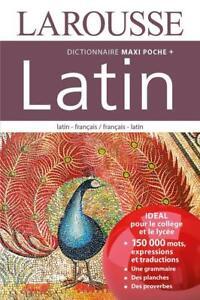 maxi poche plus dictionnaire Larousse ; latin-français / français-latin (édit...