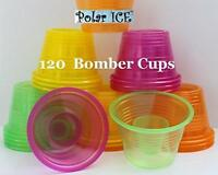 Plastic Power Bomber Shot Cups or Jager Blaster Bomb Glasses (Package of 120,