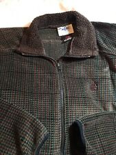 Miller's Equestrian Vintage Fleece Jacket Small Women Zipper Pullover