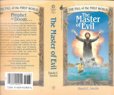 Carl Lundgren autographed this David C Smith-The Master Of Evil book cover