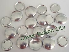100 Cover Buttons Size 30 (3/4 inch) - Flat Backs