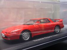 Toyota Supra 1988 Red  1/43 Scale Box Mini Car Display Diecast Vol 57