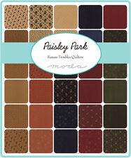 "Paisley Park Kansas  Moda Quilt Fabric  2.5""  Mini 2 Charm Pack 84 squares 2.5"""