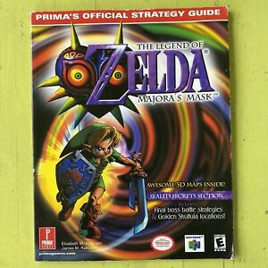 Offiz. Nintendo Spieleberater The Legend Of Zelda Majora's Mask Lösungsbuch