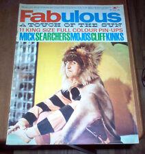 Fabulous Magazine 1964 The Beatles Kinks Mick Jagger Rolling Stones Searchers UK