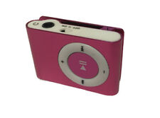 Pink Mini USB Clip MP3 Player Compact USB Travel Workout Light Small Micro SD