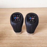 Gear Shift Knob M SPORT PU Leather 6 Speed For BMW 1' 3' E81 E82 E90 E91 E92 UK