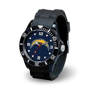 Men's Black watch Spirit - NFL - San Diego Chargers
