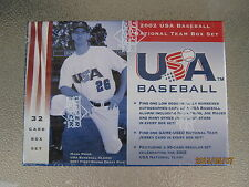 Five 2002 Upper Deck National Team USA 32 sealed sets possible Joe Mauer auto