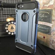 Apple iPhone 7 Heavy Urban Metal Ballistic Rugged Layer Blue Alpha™ Case